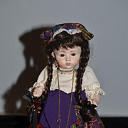 Doll Artist Doll UFDC Dolls By Marilia W/ Accessories