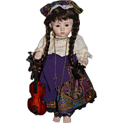 Doll Artist Doll UFDC Dolls By Marilia W/ Accessories