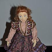 Wonderful Doll Cloth Doll Artist Doll Mimi Winer Character Wonderful