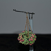 Wonderful Doll Vintage Flower Chandelier Miniature Dollhouse