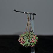 Wonderful Doll Vintage Flower Chandelier Miniature Dollhouse
