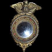Vintage American Eagle Mirror For Dollhouse Mirror Doll