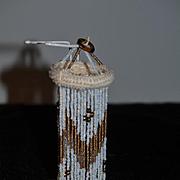 Wonderful Doll Beaded Chandelier Fancy Light Miniature Dollhouse