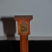 Wonderful Doll Grandfather Clock Miniature Wood Dollhouse