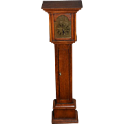 Wonderful Doll Grandfather Clock Miniature Wood Dollhouse