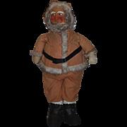 Old Large Santa Claus Wonderful Store Display Mask Face Wonderful