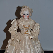 Antique Doll French Porcelain Poupee Blampoix GORGEOUS