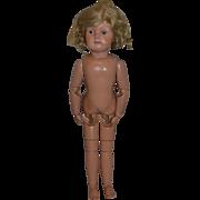 "Antique Doll Schoenhut Wood Miss Dolly 22"" SWEET!"