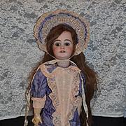 Antique Doll French Walker W/ Mechanism DEP Incised Fancy Girl Mechanical Wind Up