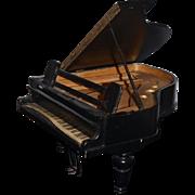 Wonderful Doll Piano Wood Salesman Sample Display