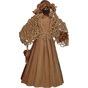 Old Doll RARE Marie Gleeson in Original Box Nut Head and Husk Body Unusual Fancy