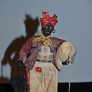 Old Doll Black Cloth Doll Rag Doll Charleston S.C. Character Unusual