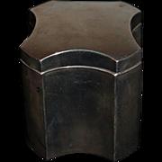 Wonderful Sterling Box Fancy Vanity Simons Brothers Tea Caddy 87.5 grans