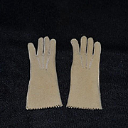 Sweet Doll Gloves Leather or Suede Miniature For Fashion Doll