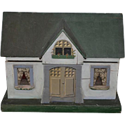 Wonderful Doll Cottage Dollhouse Miniature W/ Miniature Furniture  & Doll