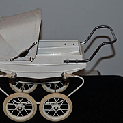 Vintage Doll French Doucet Pram Buggy Carriage Doll Wonderful
