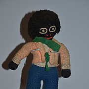 Old Doll Cloth Doll Black Doll Rag Doll Golliwog