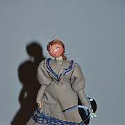 Old French Doll Pierre Balmain Creations De FARFA DET Balmain Boutique Paris France