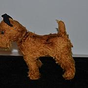 Wonderful Old Doll Toy Mohair Terrier Swivel Neck Doll's Best Friend Stuffed Animal