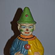 Antique Doll Clown Roly Poly Schoenhut Wonderful Painting Papier Mache
