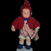 Vintage Kathe Kruse Doll Cloth Doll Adorable