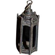 Old Doll Miniature Sterling MMA Lantern Dollhouse
