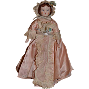Vintage Doll Ruth Gibbs In Original Outfit