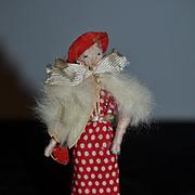 Old Doll Cloth Doll Rag Doll Lady Doll Miniature Dollhouse