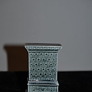 Old Doll Miniature Porcelain Fancy Stove Dollhouse For Kitchen or Shop