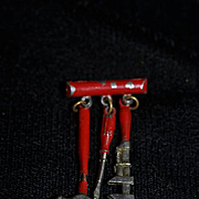 Miniature Doll Chatelaine Tool Set Dollhouse Brooch