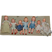 Antique Doll Set Dolls On Original