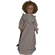 Old Doll Schoenhut Wood Carved Jointed