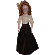 Antique Doll Bisque 1159 Simon & Halbig W/ Her Composition Lady Body Stamped