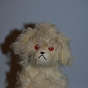 Old Stuffed Dog W/ Fur For Doll Adorable Friend for Doll