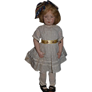 Antique Doll Schoenhut Wood Carved Jointed Character Sweet! American Girl