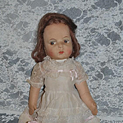 Old Doll Cloth Doll Rag Doll Character Eugene Poir Original Clothing French Doll