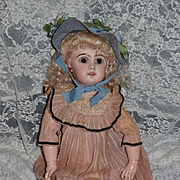 Antique Doll French Bisque Walker Body Jumeau Gorgeous