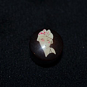 Old Doll Miniature Fashion Doll Celluloid Art Deco Perfume Vanity Item