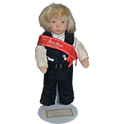 Wonderful Kathe Kruse Doll W/ Sash Bei Kathe Kruse