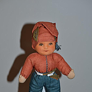 Old Doll Deans Rag Doll Cloth Doll Character Adorable Dean's Rag