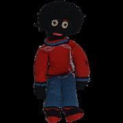 Old Doll Cloth Doll Rag Doll Golliwog Unusual Black Doll