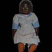 Vintage Doll Black Martha Chase Sweet!