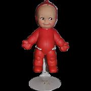Vintage Doll Cameo Kewpie Ragsy Red Vinyl