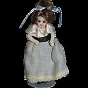Vintage Doll Miniature Dollhouse Glass Eyes Artist Doll Nita Gehlhardt