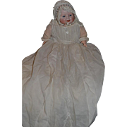 Antique Georgene Averill Bisque Doll Bonnie Babe Dresssed! Baby Doll
