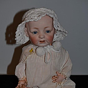 Antique Doll JDK Kestner Bisque Baby Doll Character Wobble Tongue Adorable 226 Character