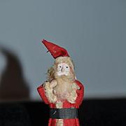 Old Doll Miniature Papier Mache Santa Claus Dollhouse