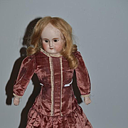Antique Doll ABG Bisque Head Turned Shoulder Sweet