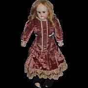 Antique Doll ABG Bisque Head Turned Shoulder Sweet
