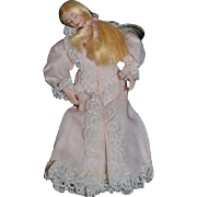 Artist Doll Miniature Dollhouse RISQUE Lady Dainty